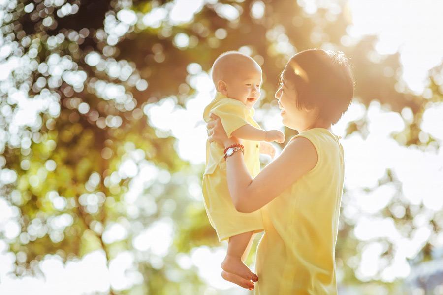 赤ちゃん 日焼け 画像