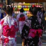 愛染祭り 浴衣 画像