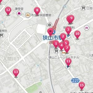 狭山市駅周辺 駐車場 画像