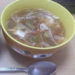 中華風 アレンジ 脂肪燃焼スープ 画像