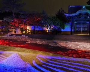 高台寺 ライトアップ 画像