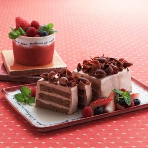 チョコレートケーキ 画像