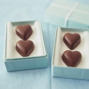 型抜きチョコレート 画像