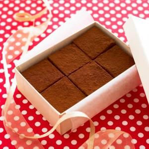 基本の生チョコ 画像