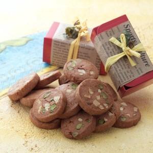 チョコアイスボックスクッキー 画像
