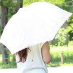 日傘 UVカット率 遮光率 画像
